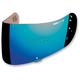 Mirror Blue Fog-Free Con Optics Shield for Airmada/Airframe Pro Helmets - 0130-0479