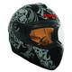 Black RR702 Zombie Helmet