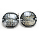 Front Flat Style Chrome LED Turn Signal Inserts - 5441