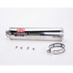 RS-3 Oval Race Bolt-On Muffler w/Polished Stainless Steel Muffler Sleeve - ZX129SO