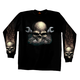 Skull and Cross Wrench Long Sleeve T-Shirt