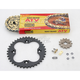 520 Quad Z-Ring Chain and Sprocket Kit - 5QUAD086KHO0