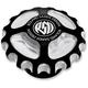 Contrast Cut Gear Drive Billet Aluminum Gas Cap - 0210-2006-BM