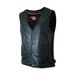 Classic Side-Ribbed Leather Vest