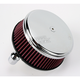 Chrome Stage I Big Sucker Performance Air Cleaner Kit w/Standard Filter - 18-324