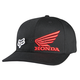 Black Honda Flex-Fit Hat