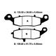 Kevlar Brake Pads - FA231