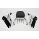 Complete Backrest/Mount Kit with Small Steel Backrest - 34-4107-01