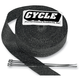 Black Exhaust Pipe Wrap - CPP/9042
