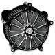 Contrast Cut Domino Venturi Air Cleaner - 0206-2028-BM