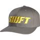 Graphite Flex-Fit Word Hat