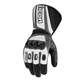 Black/Gray Compound Mesh Long Gloves