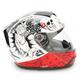 Venom Molotov White/Red Helmet