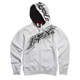 White Sonic Flash Zip Hoody