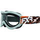 Orange/White Recruit Storm Goggles - 2701