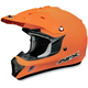 Youth Orange FX-17Y Helmet