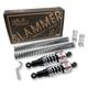 Chrome Slammer Kit - 90/130 Spring Rate (lbs/in) - B28-1001