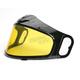 Anti-Fog Amber Double Lens Shield for HJC Helmets - 06-907