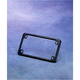 Black License Plate Frame - 0610