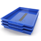 Blue M21 Stacking Trays - M21-203