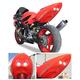 Superbike 2 Rear Undertail Fender Eliminator - H02F4-SB-RED