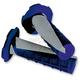 Gray/Blue Deuce Grips w/Donut - 219627-1100