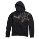 Black Golden Rockstar Zip Hoody