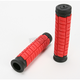 Red/Black 5 in. Cush Dual-Ply Grips - J10CHR