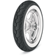 Rear D402 Harley-Davidson Series MU85HB-16 Wide White Sidewall Tire - 3019-23