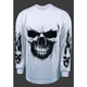 Ghost Skull Long Sleeve T-Shirt