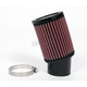 Universal Round/Straight Clamp-On Air Filter - 3 3/4 in. Diameter x 5 in. Long - RU-1760