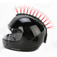 Red Fiber Optic Motorcycle Helmet Mohawk - FOR
