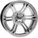 12x7 Platinum SS212 Alloy Wheel