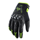 Black/Green Gloves