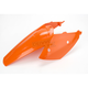 KTM Orange Rear Fender w/Attached Side Panels - 2071120237