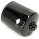Black Oil Filter w/17mm Nut - 0712-0021