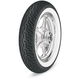 Front D402 Harley-Davidson Series MT90H-16 Wide White Sidewall Tire - 3022-91