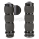 Black Anodized Velvet Air Grips w/Throttle Boss - AIR-96-BOSS