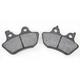 Organic Kevlar® Brake Pads - 1720-0213