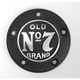 Black Powder-Coated Old Brand No. 7 5-Hole Timer Cover - JDA02P01TC