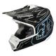 Carbon/White Pinstripe SE3 Helmet