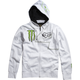 White Monster RC 4 Zip Hoody
