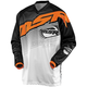 Black/White/Orange Axxis Jersey