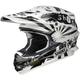 White/Black TC-6 Dissent VFX-W Helmet