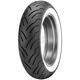 Rear American Elite 180/65HB-16 Wide White Stripe Tire - 33AE-57