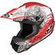 Red/White CL-X6 Kosmos Helmet