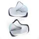 Gray/Cyan Cheek Pads for Thor Verge Helmets