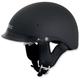 Flat Black FX-200 Helmet