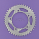 Aluminum Silver Rear Sprocket - 526-45