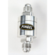 -6AN Aluminum Machined In-Line Fuel Filter - SS6P
